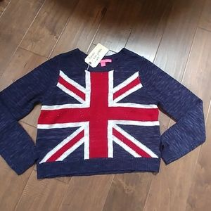 Rebellious.One British flag sweater